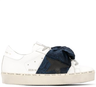 Golden Goose Bow Low-Top Sneakers