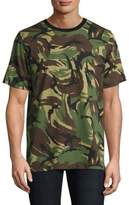 Rag & Bone Allover Camo Cotton Tee