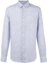 Loewe striped shirt - men - Linen/Flax - 39