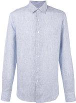 Loewe striped shirt - men - Linen/Flax - 41