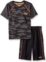 STX Boys' 2 Piece Performance T-Shirt and Short Set