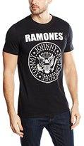 Bravado Mens Ramones - Hey Ho Let's Go - (Front Print) Mens T-shirt 95222000AP