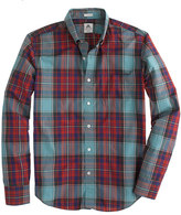 Thomas Mason Slim archive for J.Crew shirt in 1901 tartan