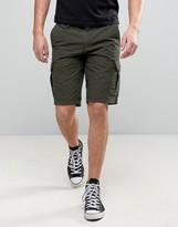 Boss Orange By Hugo Boss Cargo Shorts Regular Fit In Green