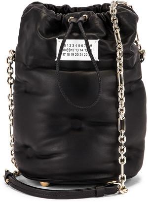Maison Margiela Glam Slam Bucket Bag in Black | FWRD