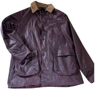 Barbour Burgundy Cotton Jackets