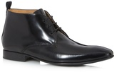 Jeff Banks Black Leather Chukka Boots