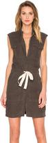 Enza Costa Sleeveless Utility Dress