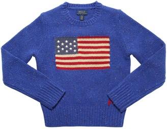 Ralph Lauren Wool Blend Knit Sweater