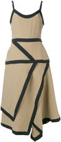 J.W.Anderson napkin dress - women - Linen/Flax - 6