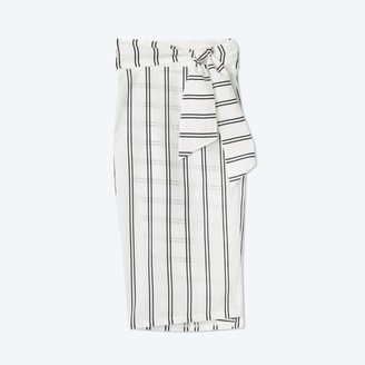 Summersalt The Easy Breezy Sarong - French Stripe in White Sand