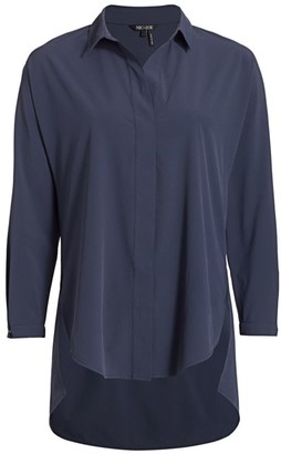Nic+Zoe Tech Stretch Button-Up Shirt
