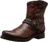 Frye Women's Veronica Stud Moto Short Motorcycle Boot