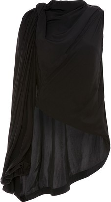 J.W.Anderson Draped One-Shoulder Blouse