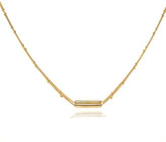 Coco Mango Jewellery L U X E | 18K Gold Double Chain Bali Necklace