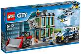 Lego City Bulldozer Break In