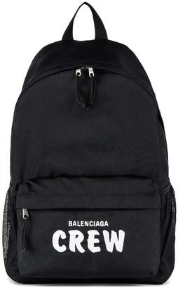 Balenciaga Backpack in Black & White | FWRD