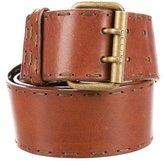 Celine Leather Whipstitch Belt