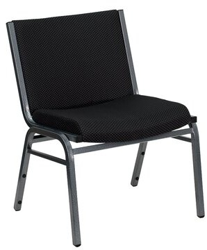 Winston Porter Chafin Stack Guest Chair Winston Porter Seat Finish: Black