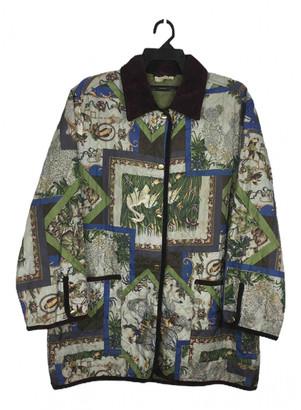 Salvatore Ferragamo Green Polyester Jackets