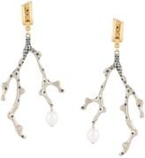 Chloé Bonnie coral earrings