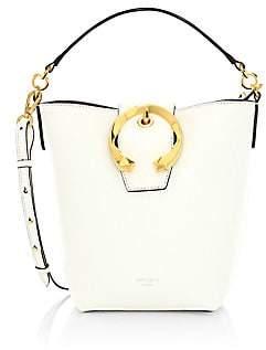Jimmy Choo Women's Madeline Leather Bucket Bag
