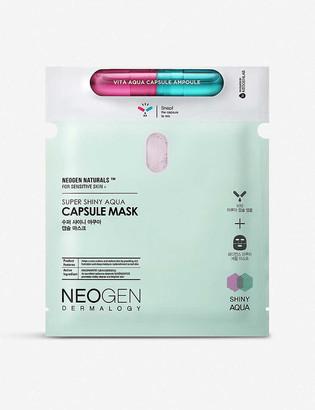 NEOGEN Super Shiny aqua capsule face mask