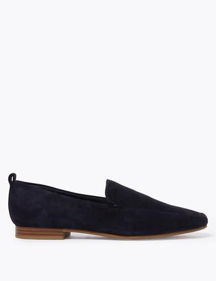 Marks and Spencer Suede Flatform Loafers