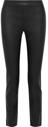 Diane von Furstenberg Claudia Stretch-leather Skinny Pants