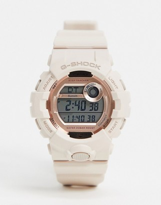 Casio G Shock digital watch in pink GMD