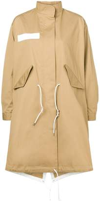 Sacai Oversized Midi Coat