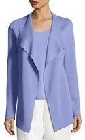 Eileen Fisher Open Interlock Casade Jacket, Plume