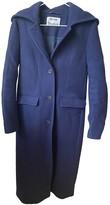 Acne Studios Navy Wool Coats