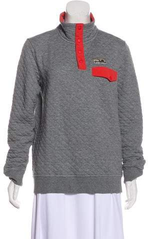 Patagonia Quilted Long Sleeve Sweater