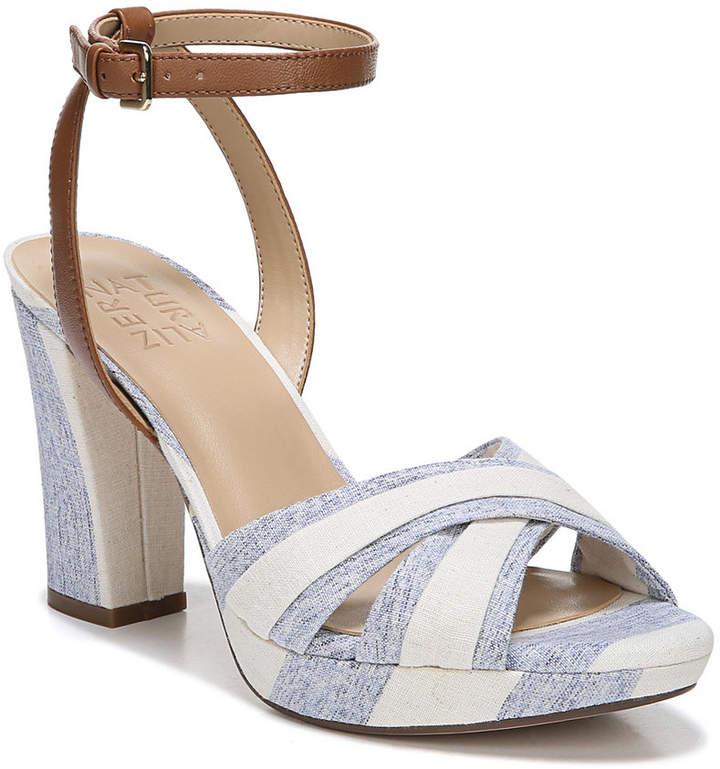 8d636433af28 Naturalizer Black Leather Upper Sandals For Women - ShopStyle Canada