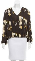 Genny Oversize Abstract Top w/ Tags