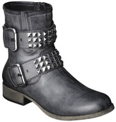 Mossimo Women's Keona Studded Boot - Black