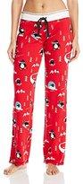PJ Salvage Women's Penguin Run Lounge Pant