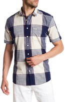 Lindbergh Checked Short Sleeve Regular Fit Shirt