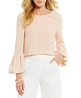 Lucy Paris Bell Sleeve Blouse