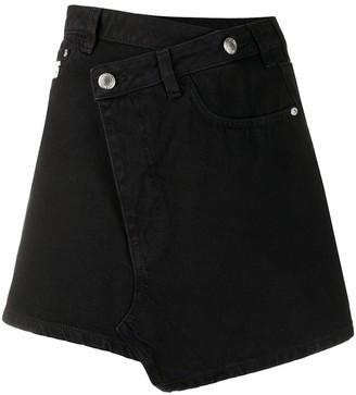 GCDS Asymmetric Front Skirt