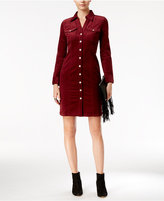 INC International Concepts Corduroy Shirtdress, Only at Macy's