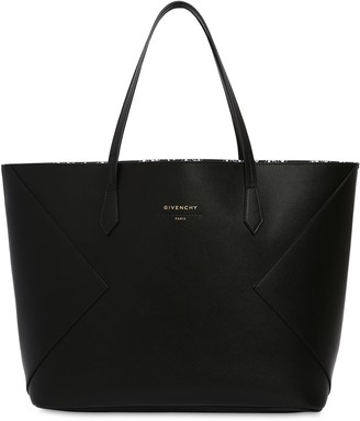 Givenchy Wing Leather Tote Bag
