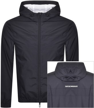 Giorgio Armani Emporio Full Zip Jacket Navy