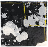 Haider Ackermann splatter print scarf - women - Silk - One Size