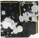 Haider Ackermann splatter print scarf