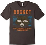 Marvel Rocket Guardians of the Galaxy 2 List Graphic T-Shirt