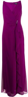 Lauren Ralph Lauren Hermina wrap-style maxi dress