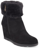 Alfani Women's Oreena Wedge Booties, Only at Macy's