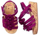 Gymboree Floral Wedge Sandals